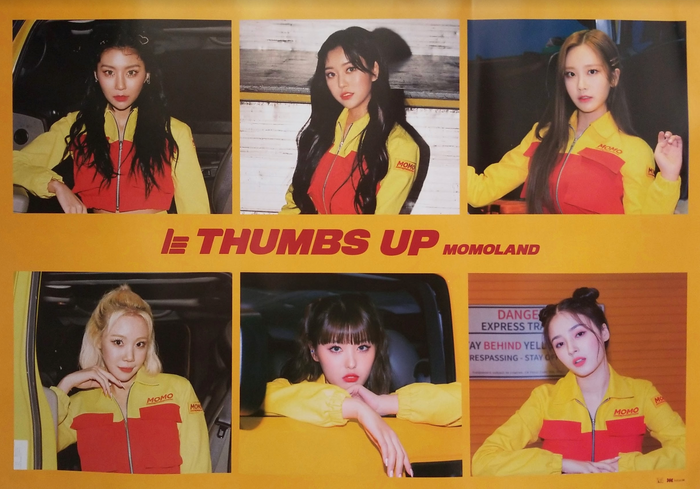 Momoland 2nd Single Album Thumbs Up Official Poster - Photo Concept 2