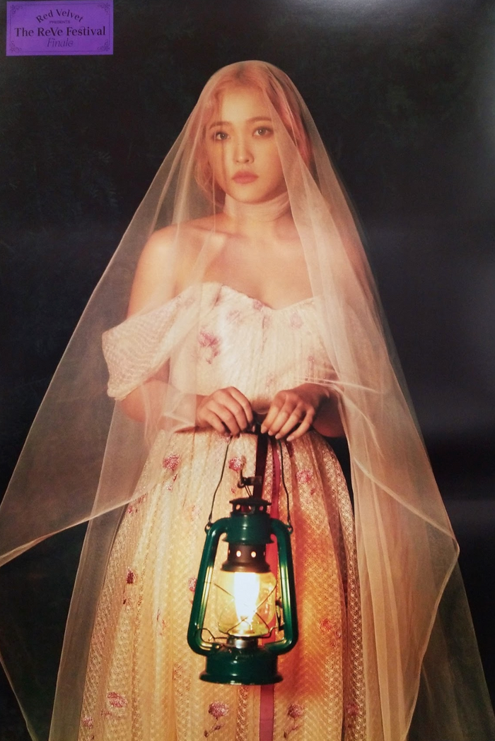 RED VELVET The Reve Festival Finale Official Poster - Photo Concept Yeri