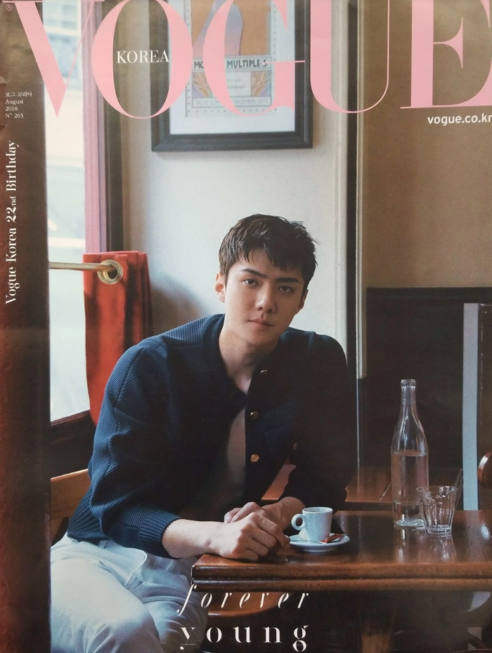 Vogue Korea Sehun Official Poster - Photo Concept 1