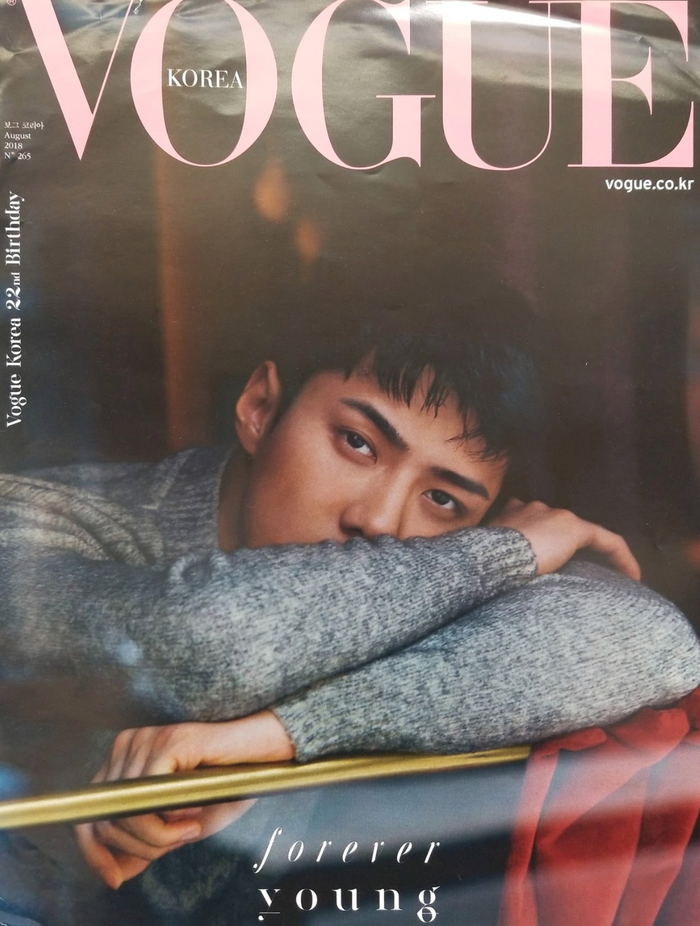 Vogue Korea Sehun Official Poster - Photo Concept 2