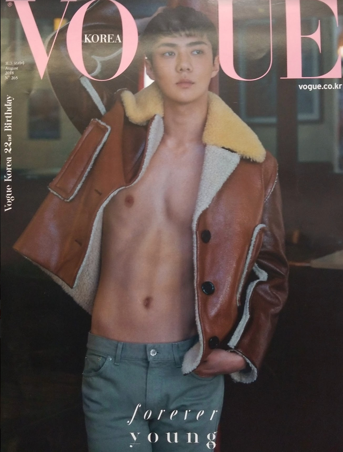 Vogue Korea Sehun Official Poster - Photo Concept 3