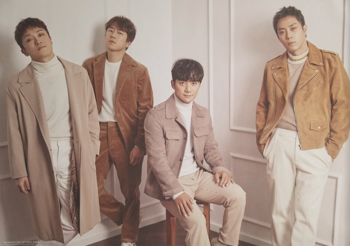 SECHSKIES 1ST MINI ALBUM - ALL FOR YOU Double Sided Official Poster - Photo Concept 1