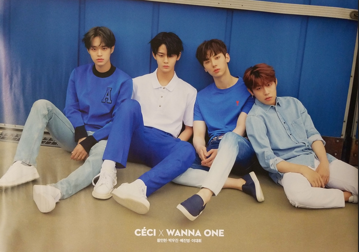 Ceci X Wanna One Official Magazine Official Poster - Photo Concept 1