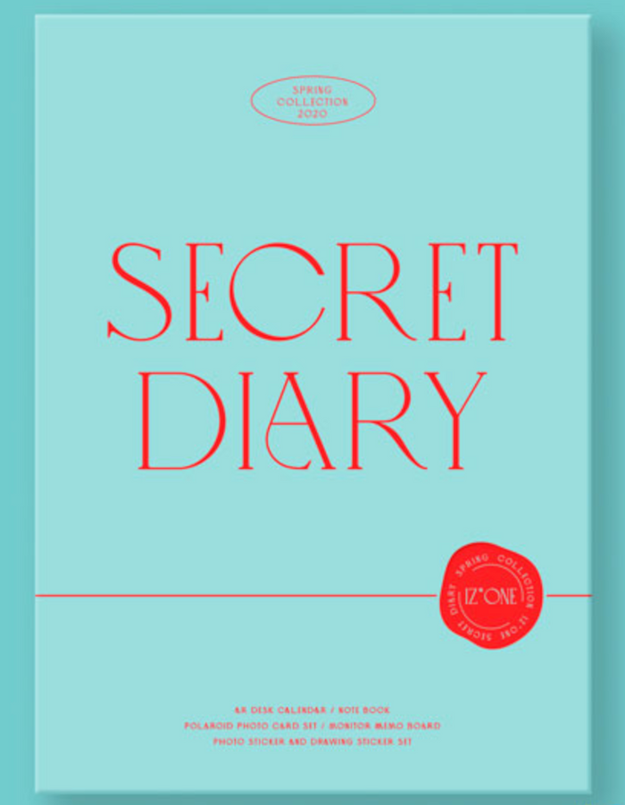 IZ*ONE SECRET DIARY (CALENDAR PACKAGE)