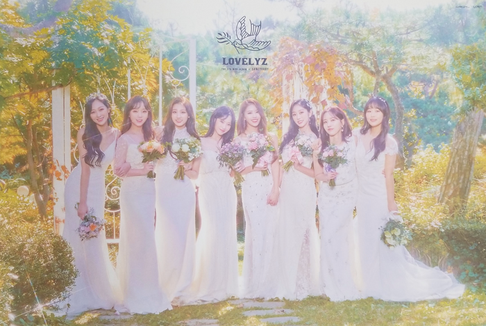 Lovelyz 5th Mini Album Sanctuary Official Poster - Photo Concept 1