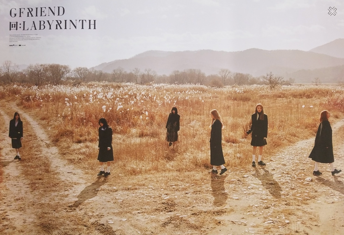GFRIEND ALBUM - 回:LABYRINTH Official Poster - Photo Concept Crossroads
