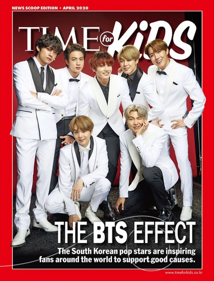 BTS 04-2020 - TIME Magazine for Kids Korean Edition