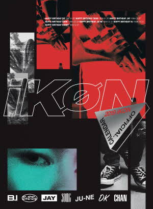 iKON 2019 OFFICIAL CALENDAR