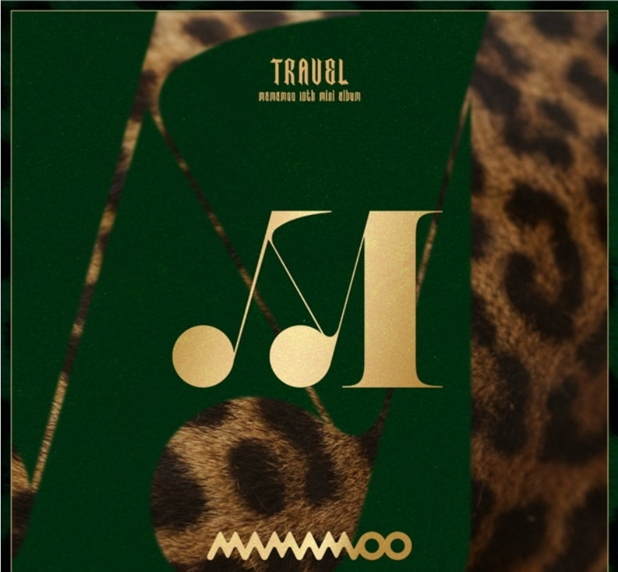 [Pre-Order] MAMAMOO 10th Mini Album - TRAVEL