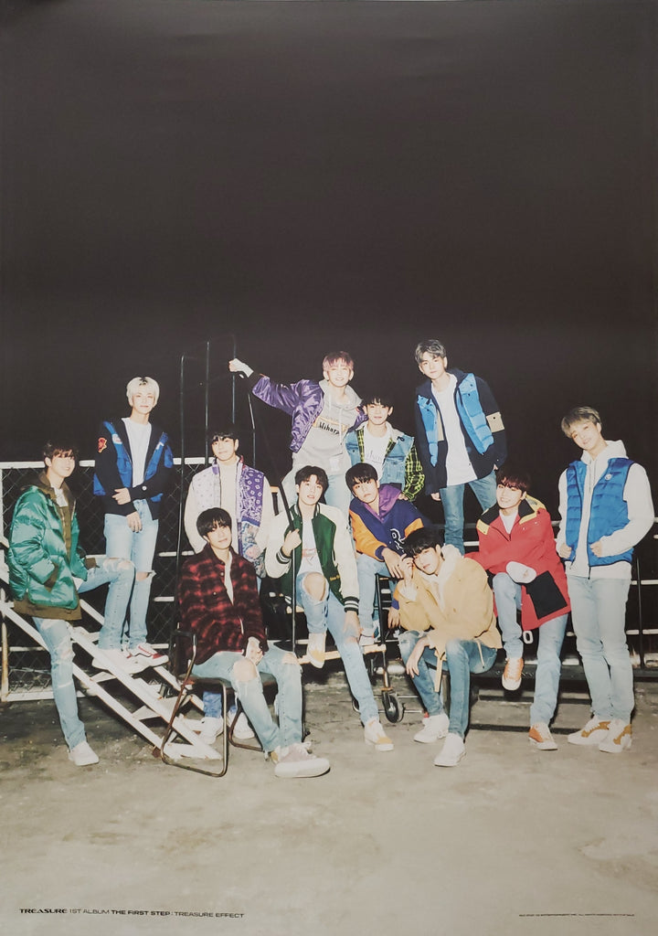 Treasure 1st Album The First Step : Treasure Effect Official Poster - Photo Concept 1