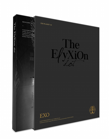 EXO PLANET No 4 -THE EℓYXION [DOT] - Concert Photobook & Live CD (2CD)