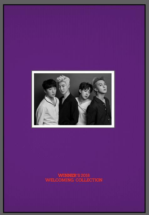 위너 WINNER - WINNER'S 2018 WELCOMING COLLECTION (LIMITED EDITION)