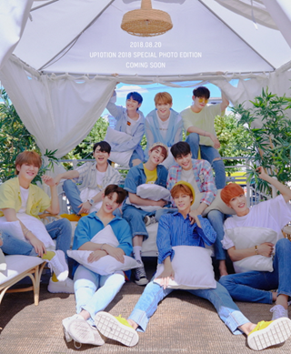 업텐션 UP10TION 2018 SPECIAL PHOTO EDITION