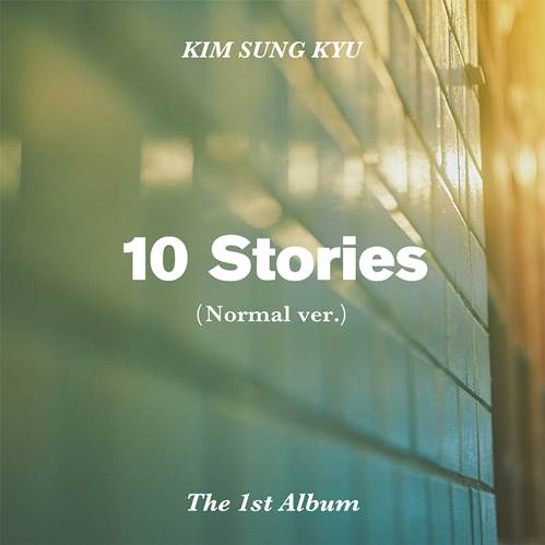 김성규 KIM SUNG KYU 1ST ALBUM - 10 STORIES (NORMAL VER.)