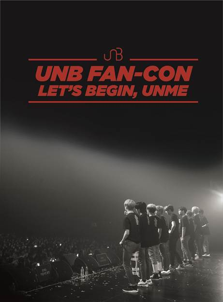유앤비 UNB DVD 2018 UNB FAN-CON [LET'S BEGIN, UNME]