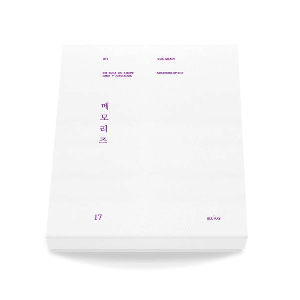 [Pre-Order] 방탄소년단 BTS BLU-RAY 2017 MEMORIES