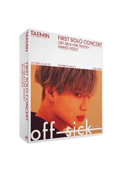 [Pre-Order] 태민 TAEMIN 1st CONCERT 'OFF-SICK' Kihno Video