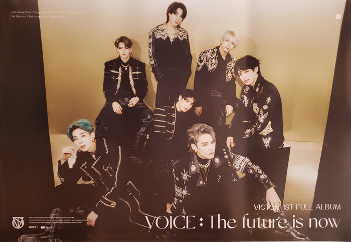 VICTON 1st Album VOICE : The future is now Official Poster - Photo Concept 1