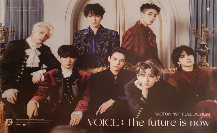 VICTON 1st Album VOICE : The future is now Official Poster - Photo Concept 3