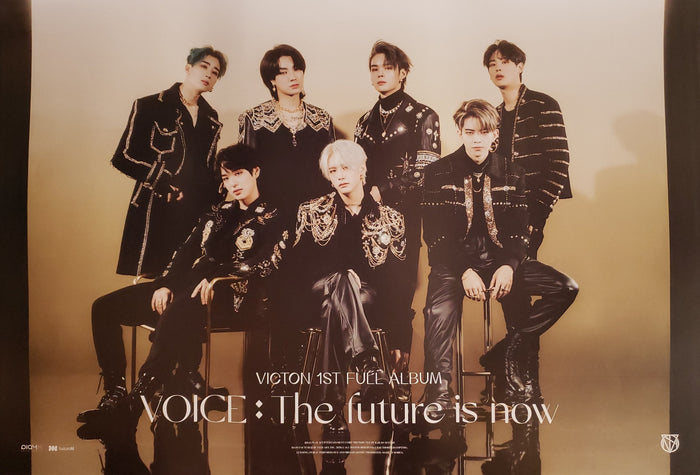 VICTON 1st Album VOICE : The future is now Official Poster - Photo Concept 4