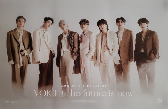 VICTON 1st Album VOICE : The future is now Official Poster - Photo Concept 5