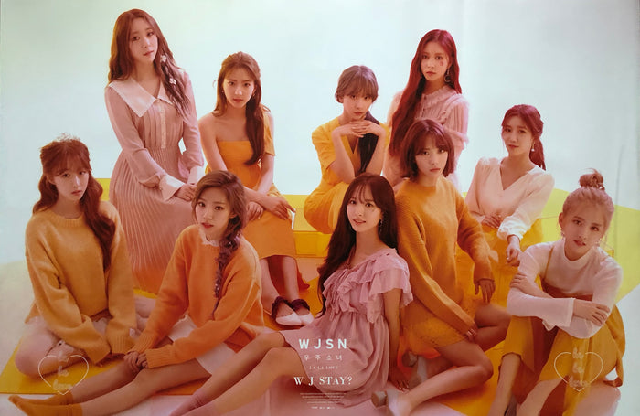 WJSN ALBUM [WJSTAY?] OFFICIAL POSTER - PHOTO CONCEPT 1