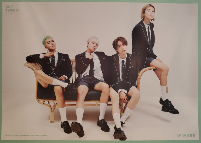 WINNER 2nd Single Album Our Twenty For Official Poster - Photo Concept 1