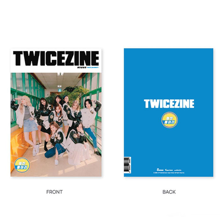 TWICE University Official Merchandise Goods - TWICEZINE