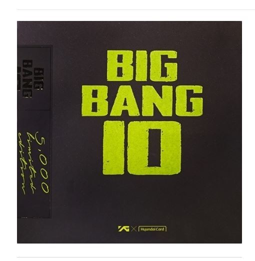 빅뱅 BIGBANG - BIGBANG10 THE VINYL LP: LIMITED EDITION [LP+Book+History Plate+Poster]