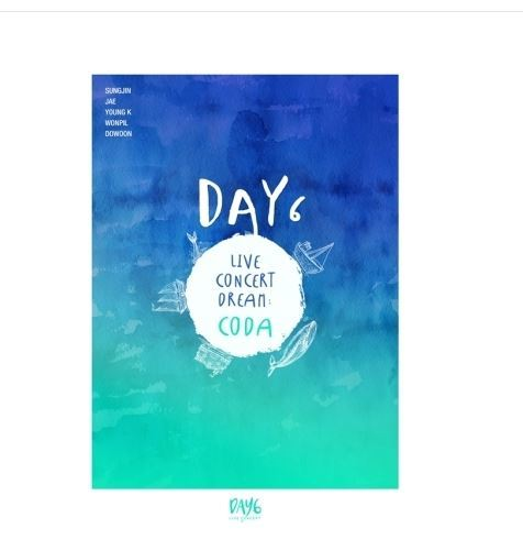 데이6 DAY6 LIVE CONCERT DREAM:CODA(Limited Edition)