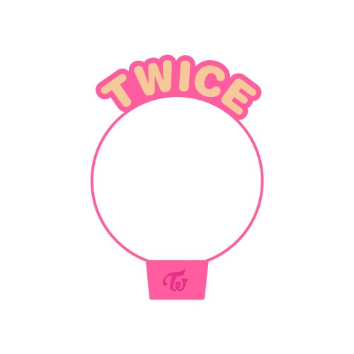TWICE 2020 World in A Day Official Merchandise  - CandyBongz Cover Version 2