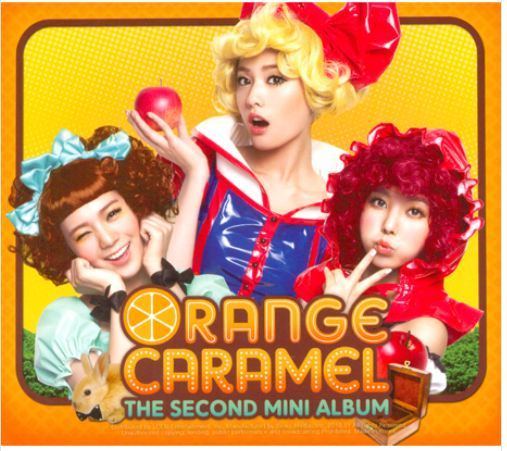 오렌지 카라멜 Orange Caramel-The 2nd Mini Album-아잉♡