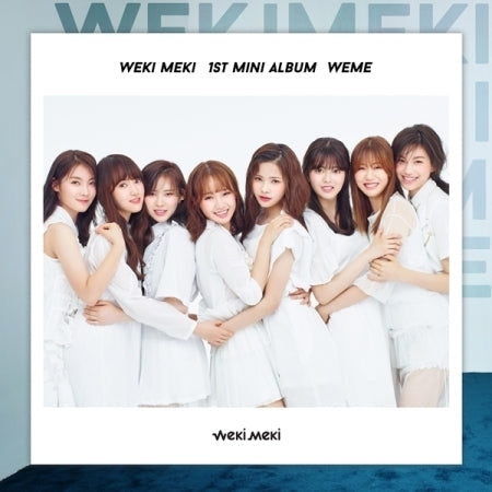위키미키  WEKI MEKI 1ST MINI ALBUM - WEME(VER.B)[LIMITED EDITION]