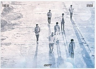 갓세븐 GOT7 FLIGHT LOG: DEPARTURE POSTER IN TUBE VERSION A (POSTER ONLY)