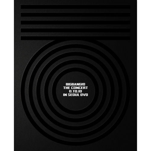빅뱅 BIGBANG10 THE CONCERT 0 .TO. 10 in SEOUL DVD