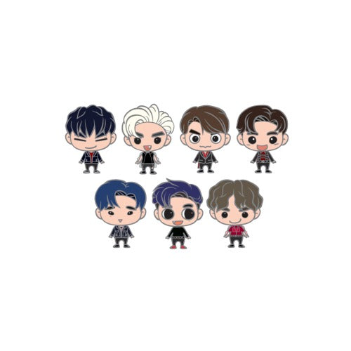 GOT7 KEEP SPINNING Goods - GOTOON BADGE