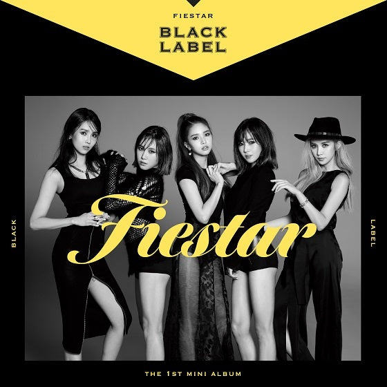 피에스타 Fiestar Mini Album Vol. 1 - Black Label