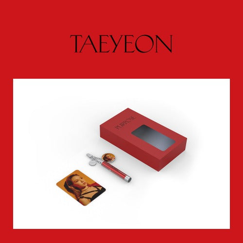 [Pre-Order] Taeyeon Official Goods - Photo Projection Keyring
