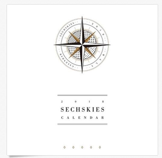 [Pre-Order] 젝스키스SECHSKIES 2018 OFFICIAL WALL CALENDAR