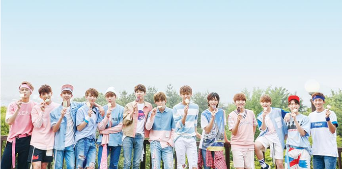 세븐틴 SEVENTEEN - Love & Letter UNFOLDED POSTER