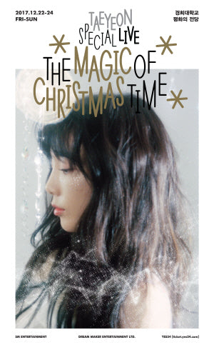 "[Pre-Order] 태연 TAEYEON SPECIAL LIVE DVD - ""THE MAGIC OF CHRISTMAS TIME"""