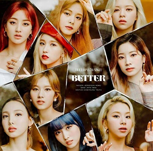 [Japan Import] TWICE 7th Single - BETTER (Normal Version)