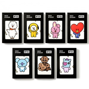 방탄소년단 BTS - BT21 OFFICIAL GOODS - DECO STICKER