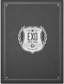 엑소 EXO - EXO's First Box (DVD) (4-Disc) (Limited Edition) (Korea Version)
