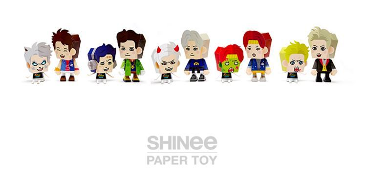 SHINee - Paper Toy Official [SHINee The Horror SHOW] (JONG HYUN)