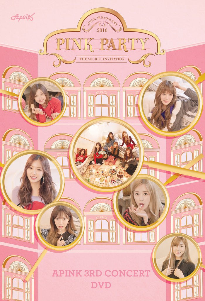 에이핑크 APINK 3RD CONCERT DVD - PINK PARTY (2 DISC)