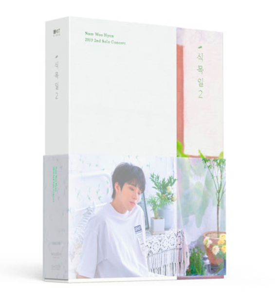 [Pre-Order] [KiT] NAM WOO HYUN - 2019 2ND SOLO CONCERT [식목일 2] KiT