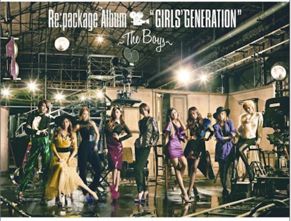 "소녀시대 Re:package Album ""GIRLS' GENERATION"" - The Boys - (Normal Edition)(Japan Version)"