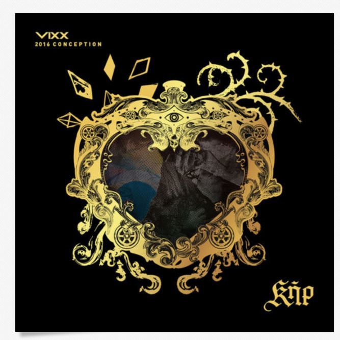 빅스 VIXX-VIXX 2016 CONCEPTION KER SPECIAL PACKAGE [LIMITED EDITION] CD+DVD