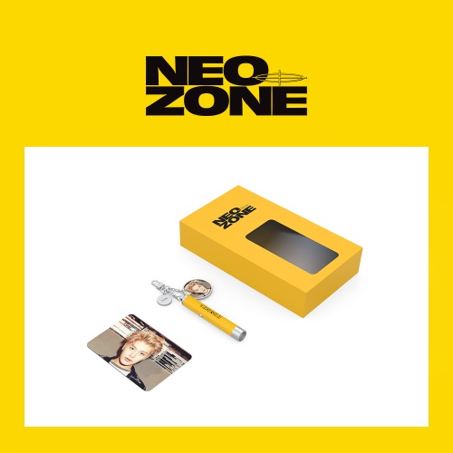 NCT 127 Neo Zone Photo Projection Keyring